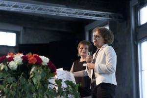Kathrin Hilber, ehemalige Regierungsrätin und Gabriela Hauser