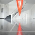 Kajak-Installation von Roman Signer im Union-Gebäude St. Gallen